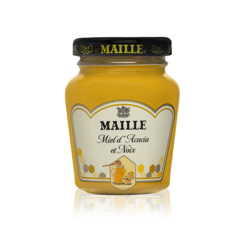 Maille Mustard with Acacia Honey and Walnut, 108g