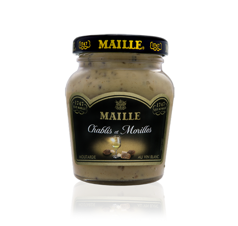 Maille Morel Mushroom and Chablis White Wine Mustard, 110g