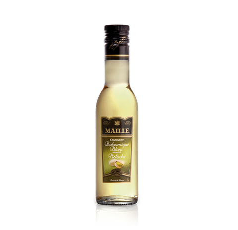Maille White Balsamic Vinegar with Pistachio Nut flavour, 250ml