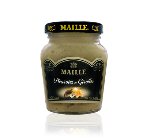 MAille Pleurote, Chanterelle Mushrooms and White Wine Mustard, 108g