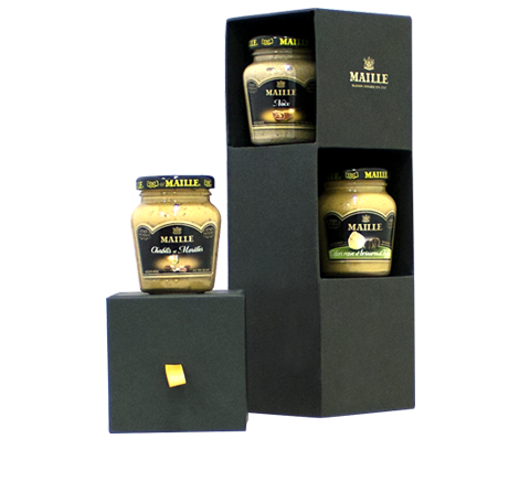 Maille Exclusive Gourmet Seasonal Mustard Selection