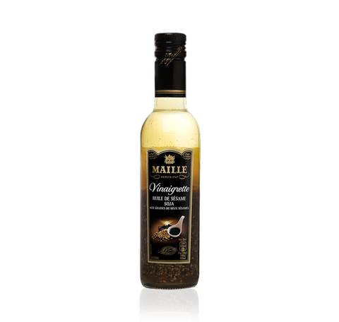 Maille Soy Vinaigrette with Toasted Sesame Seeds, 360ml