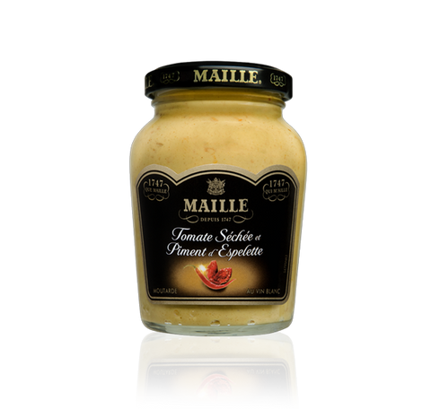 Maille Sun-dried Tomato, Espelette Pepper and White Wine Mustard