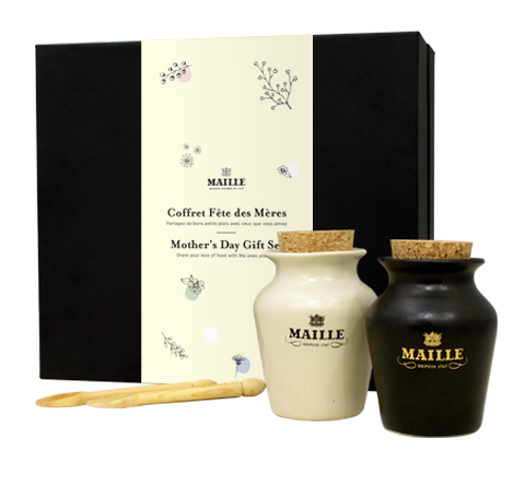 Mother's Day - Black & White Truffle Gift Set