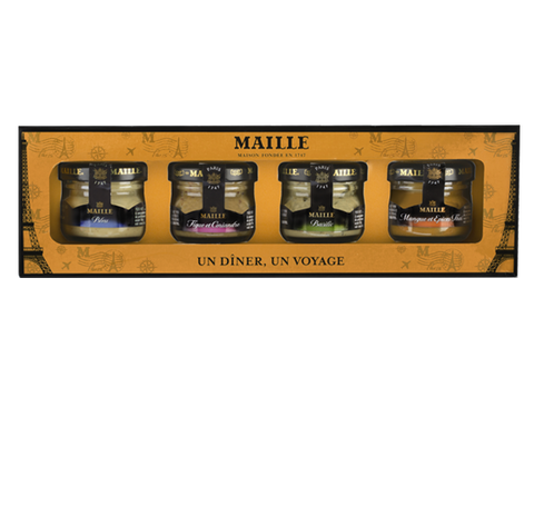 Maille Taste of the World Dijon Mustard Mini Gift Box
