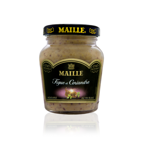 Maille Fig, Coriander and White Wine Mustard, 110g