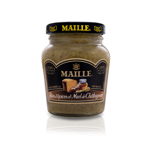 Maille Gingerbread, Chestnut Honey and White Wine Mustard, 110g