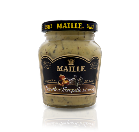 Maille Hazelnut, Black Chanterelle Mushroom and White Wine Mustard, 108g