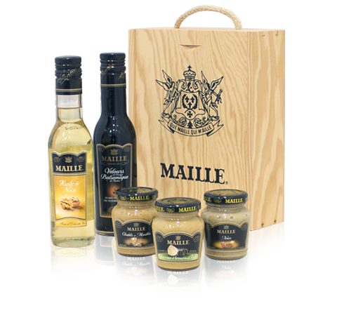 Maille Woodland Vinaigrette Collection out of box