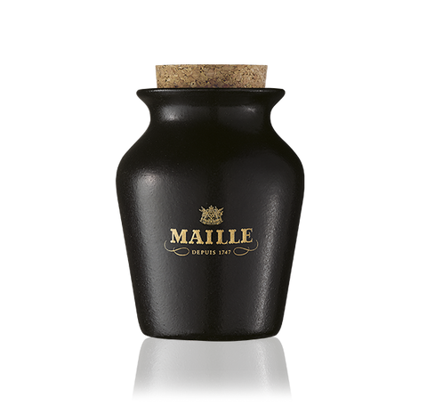 Maille Black Truffle Mustard with Chablis White Wine, Freshly Pumped