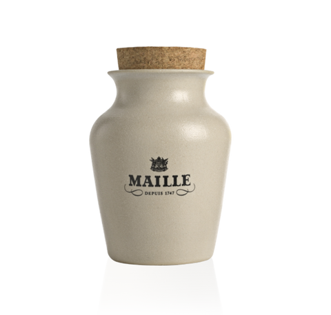 Maille Mustard with Chardonnay White Wine and White Truffle from Alba, Freshly pumped