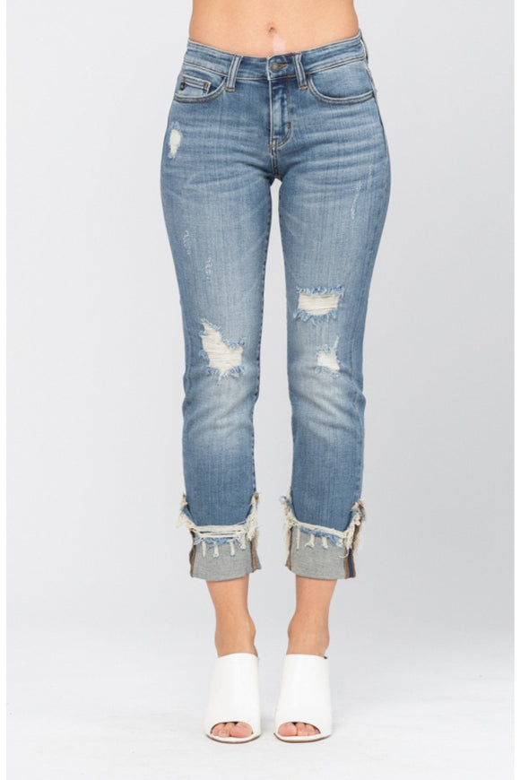 Carefree & Relaxed Judy Blue Jeans