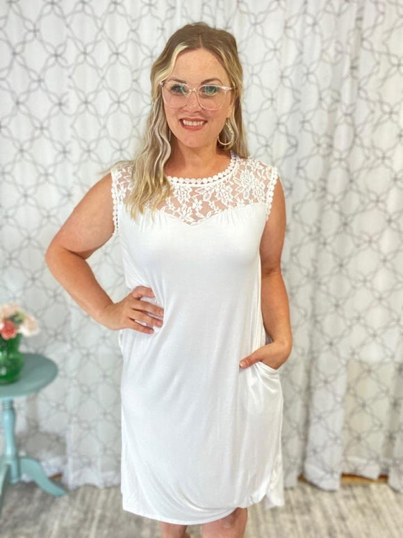 The Sweet & Lovely Lace Dress