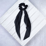 Solid Satin Hair Scarves