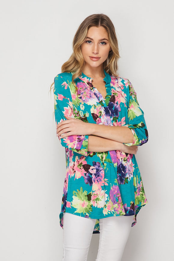 Fields of Spring Tunic