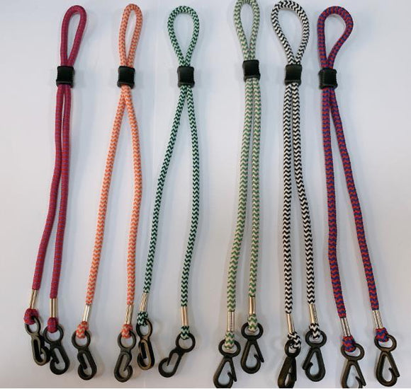 Woven Lanyard For Face Masks (shipping late August)