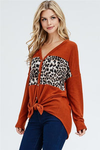 Fierce & Fabulous Knot Top
