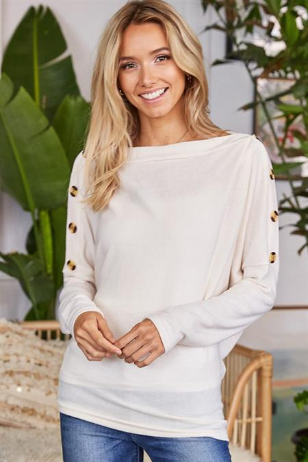 Beauty in the Buttons Sweater