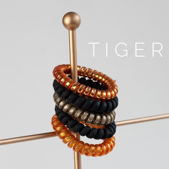 Tiger Large Lauren Lane Hair Coils