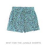 Mint for the Jungle Shorts