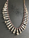Dakota Rhinestone Statement Necklace