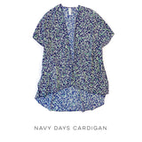Navy Days Cardigan