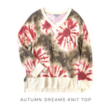 Autumn Dreams Knit Top