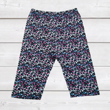 ComfyCute Shorties - Rainbow Animal Print