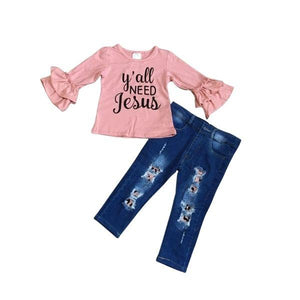 Y'all Need Jesus Outfit