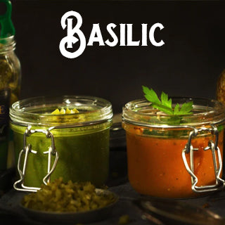 Maille, recette, basilic