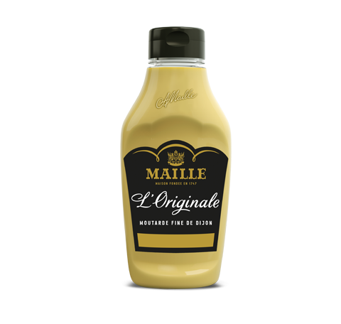 Maille dijon originale flacon souple 245g face
