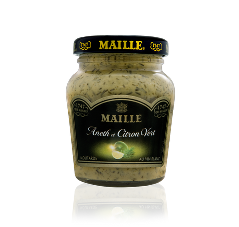 Moutarde Aneth & Citron Vert, 108g