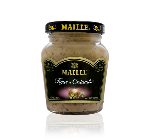 Maille Moutarde Figue et Coriandre, 110g