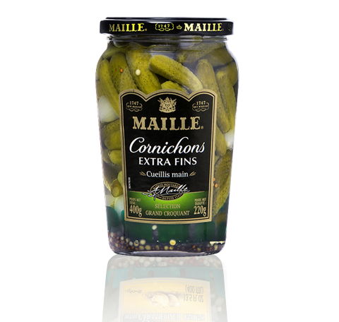 Maille Cornichons extra fins, 400g