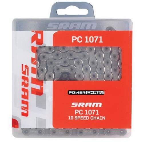 Corrente Sram PC - 1071 Hollow Pin-114 elos Corrente Sram