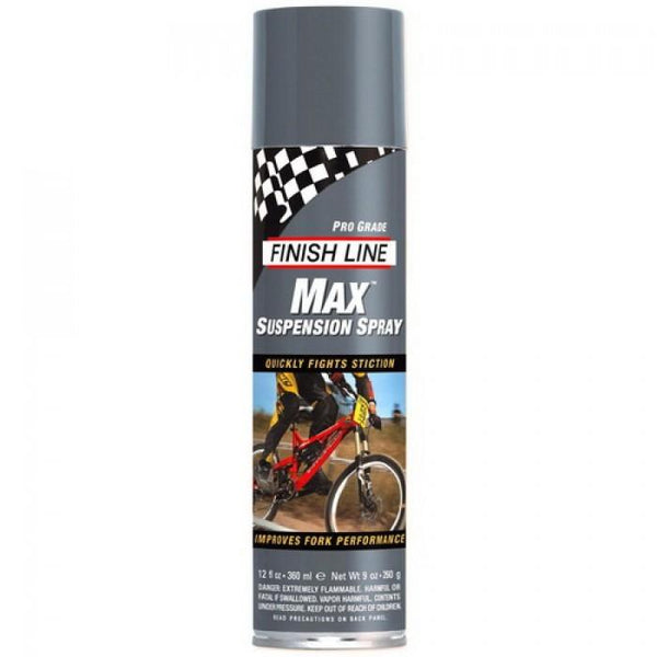 Max Suspension Spray Finish Line Para Suspensão 355ml Lubrificante Finish Line