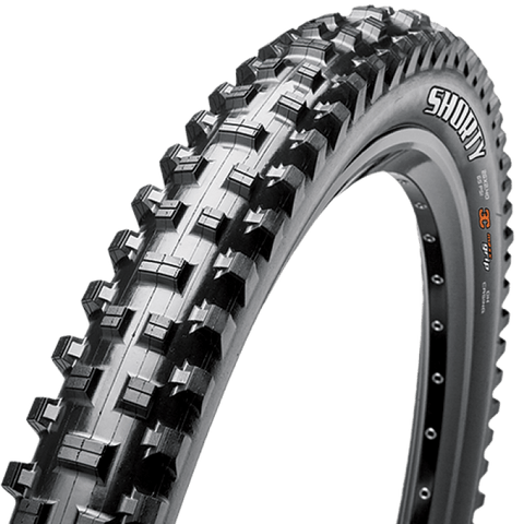 Pneu Maxxis SHORTY 27.5X2.30 - 3C/EXO/TR (dobrável) - Bike Village