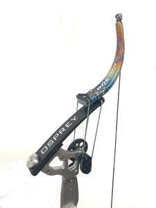 "Silver/Chrome Custom Osprey, RH, 30/50, Medium (27.5""-29"")"
