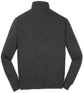 Graphite Heather 1/4 Zip Pullover