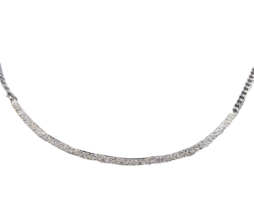Pave Diamond Bar