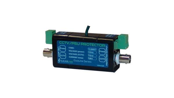 Clearline CCTV Signal and 12VDC PSU Protector