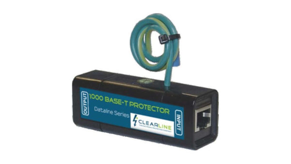 Clearline Gigabit Single Port RJ45 Protector