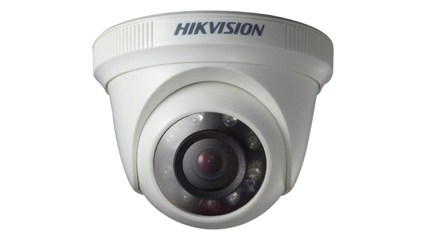 DS-2CE56C0T-IRPF Hikvision 1 MP Fixed Indoor Turret Dome Camera
