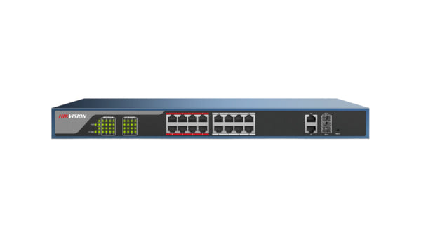 DS-3E1318P-E Hikvision 16 Port Fast Ethernet Web POE Switch