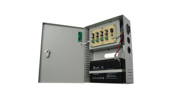 MPS-UPS060-4C Mulview 4 Amp 12VDC Power Supply. 4-Channel Switch Mode