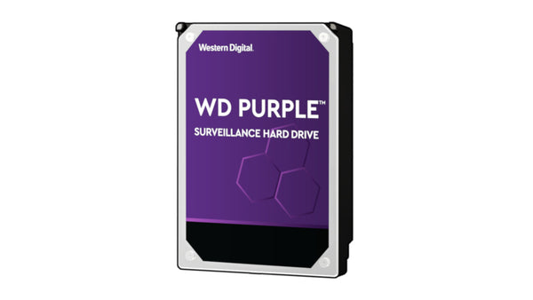 "Western Digital Surveillance, 8 TB 3.5"" SATA Hard Drive WD Purple"
