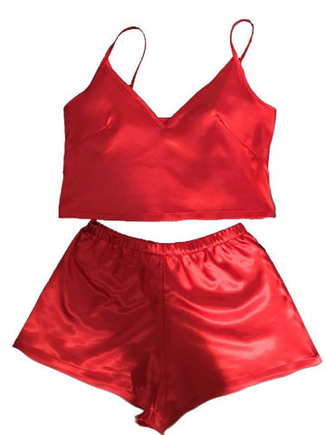 Fire Silk Short Set