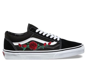 Black Rose Old Skool Vans