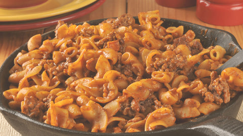 Hamburger Casserole with noodles