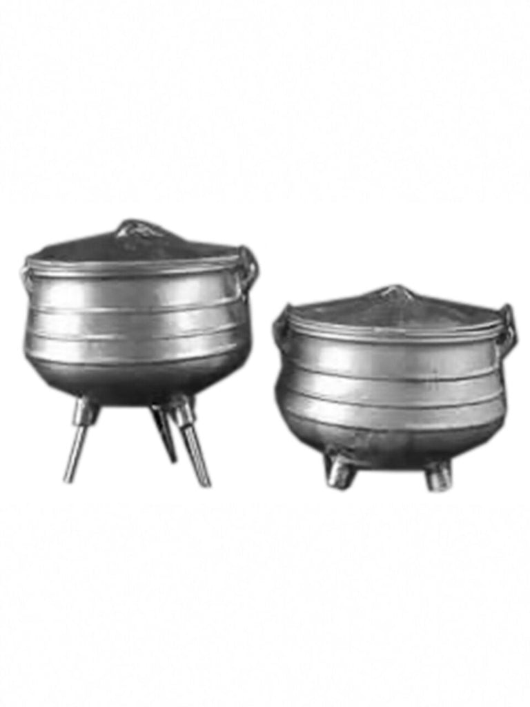 Aluminium Potjie Pot Size 3 versatile (flat and screw in legs) - African Pot
